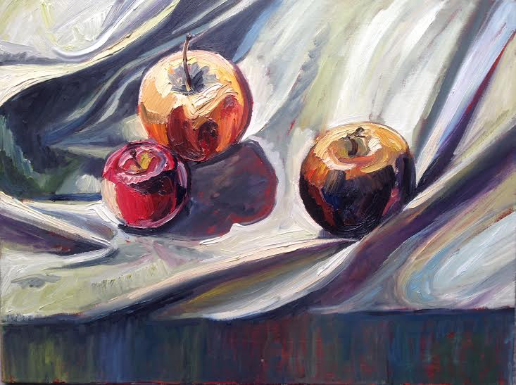 0001 Three Apples 2015