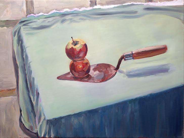 0002 Apple On Trowel 2015