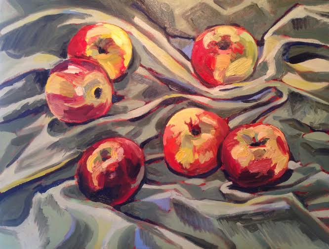 0007 Six Apples 2015